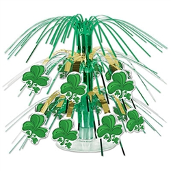 Shamrock Mini Cascade Centerpiece
