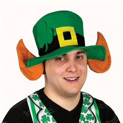 Felt Leprechaun Hat with Ears