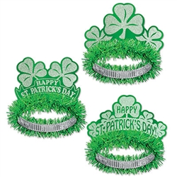 St. Patrick's Regal Tiaras (sold 50 per box)