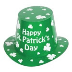 Happy St. Patrick's Day Hi-Hat (sold 25 per box)