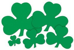 Green Shamrock Cutout (20 inch)