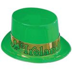 Plastic Irish Topper Hat