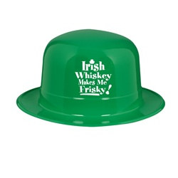 Irish Whistkey Makes Me Frisky Derby Hat