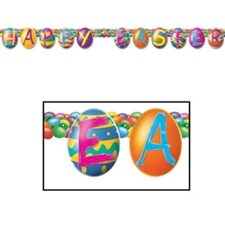 Color Bright Egg Streamer