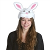 Plush Bunny Head Hat