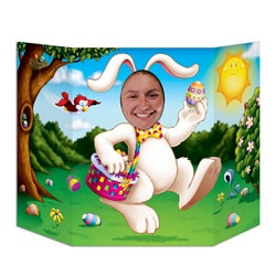 Easter Bunny Photo Prop
