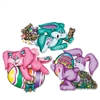 Colorful Easter Bunny Cutouts (3/Pkg)