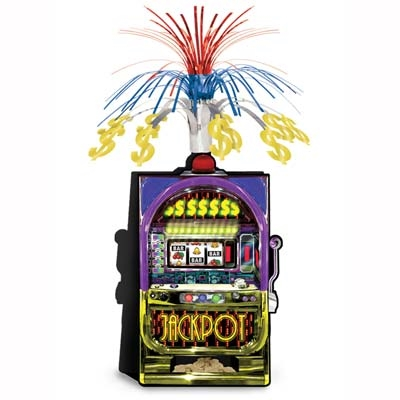 Slot Machine Centerpiece Partycheap