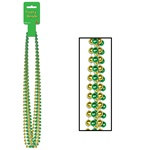 Green and Gold Party Beads
