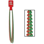 Red and Green Party Beads (6/pkg)