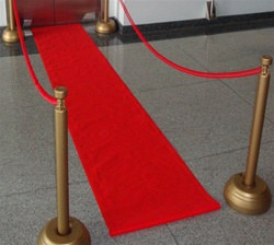 No walk of shame here!  Our Red Carpet Runner makes everyone a celeb!
