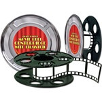 Movie Reel with Filmstrip Centerpiece