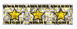 Metallic Awards Night Fringe Banner