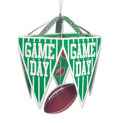 Game Day Pennant Chandelier
