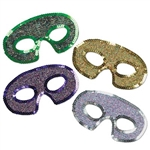 Sequin-Lame' Half Mask (Sold Individually)