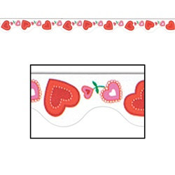 Valentine Border Trim (12pcs/pkg) Total 37 feet