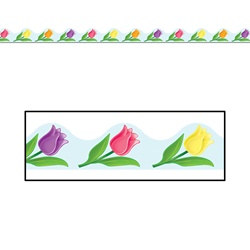Spring Border Trim (12pcs/pkg) Total 37 feet