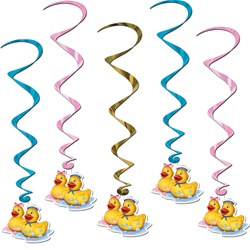 Just Duckie Whirls (5/pkg)