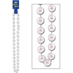 Pearl White Jumbo Party Beads (1/pkg)