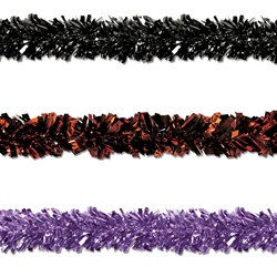 Halloween Gleam N Fest Festooning Garland (Select Color)