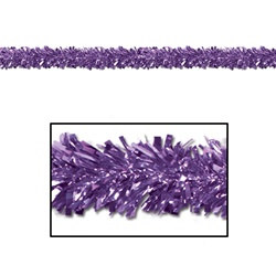 Purple Gleam N Fest Festooning Garland