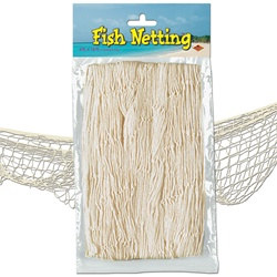 Natural White Fish Netting