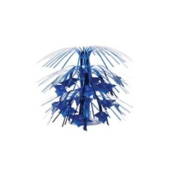 Blue Mini Grad Cap Cascade Centerpiece