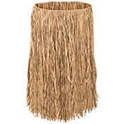 Value Raffia Natural Hula Skirts (Select Size)