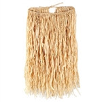 Deluxe Raffia Hula Skirt (Adult Natural)