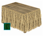 Raffia Table Skirting (Select Color)