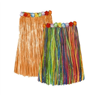 Child Artificial Grass Hula Skirts (Select Color)