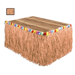 Natural - Artificial Grass Table Skirting
