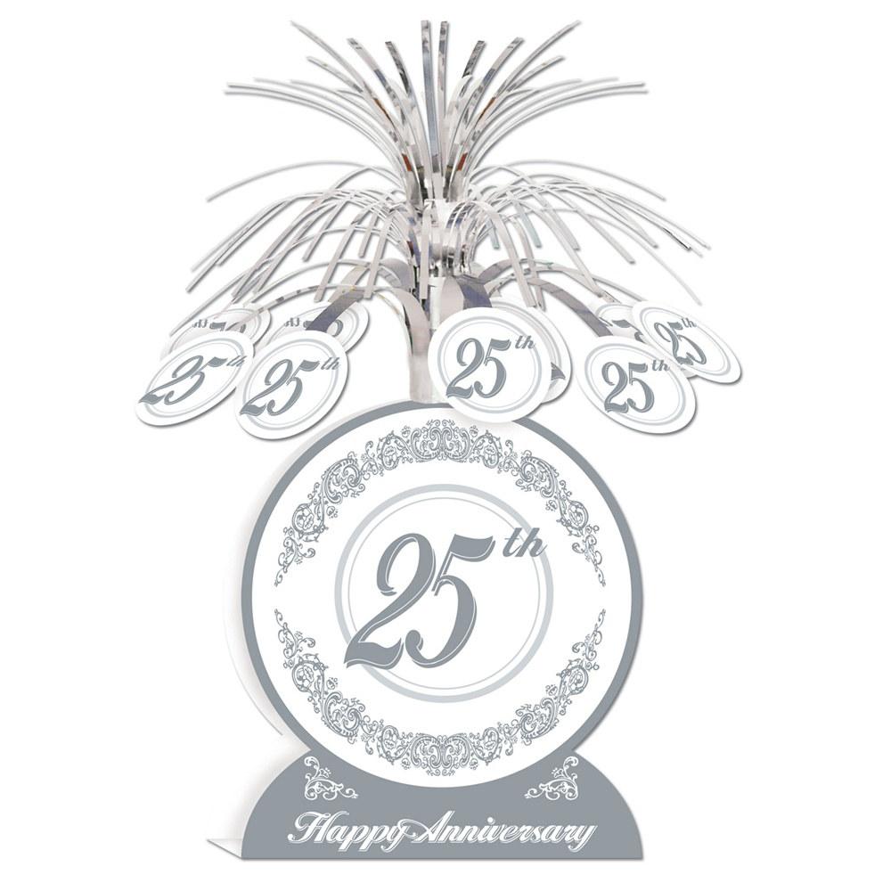 25th Wedding Anniversary Centerpiece Ideas: 25th Anniversary Centerpiece