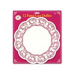 Paper Lace Doilies 12in  (12/Pkg)