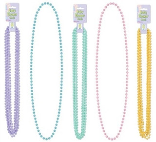 Baby Shower Beads (6/pkg) - Choose Color