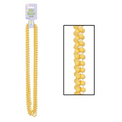Yellow Baby Shower Beads (6/pkg)