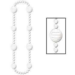 Volleyball Beads (1/pkg)