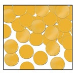 Gold Fanci-Fetti Dots (1 ounce/pkg)