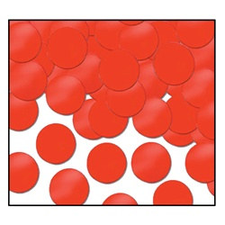 Red Fanci-Fetti Dots (1 ounce/pkg)