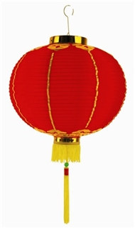 Chinese Lantern w/Tassel (Choose Size)