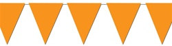 Orange Indoor/Outdoor Pennant Banner, 12 ft