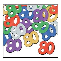 "Fanci-Fetti ""80"" Silhouettes, 1/2 Ounce/Pkg, Multi-Color"