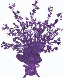 Purple Star Gleam 'N Burst Centerpiece