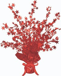 Red Star Gleam 'N Burst Centerpiece