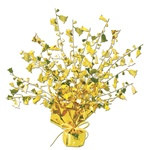Gold Bell Gleam 'N Burst Centerpiece