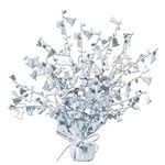 Silver Bell Gleam 'N Burst Centerpiece