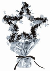 Silver Star Gleam N Shape Centerpiece