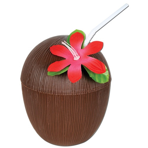 Plastic coconut cup partycheap