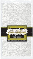 Rectangular Lace Tablecover - 54 x 108 in