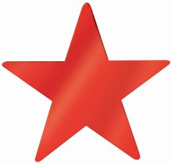 Red Foil Star (20 inch)